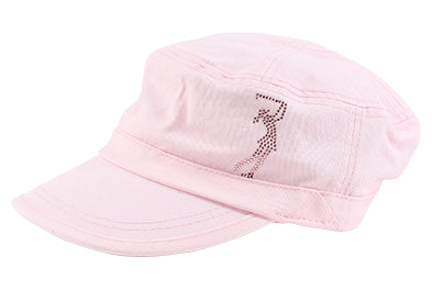 Cameron Military Cap, Golf Girl - dolly mama boutique