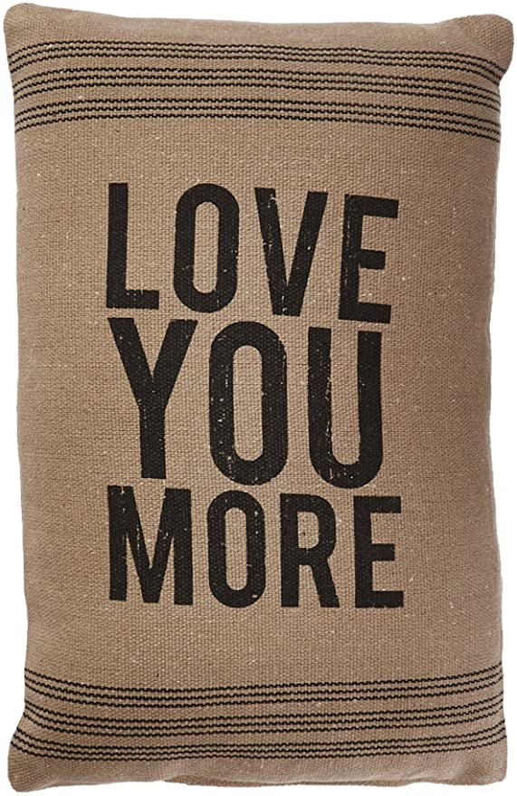 Love You More Pillow - dolly mama boutique