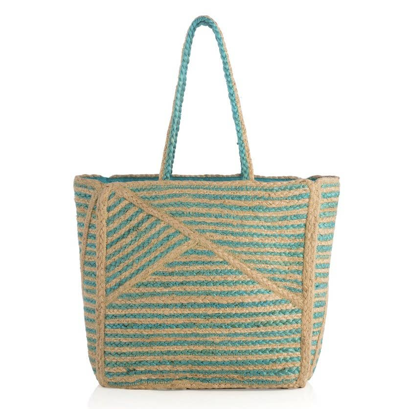 Hani Tote - Turquoise - dolly mama boutique