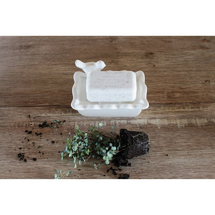 Ceramic Bird Soap Dish - dolly mama boutique