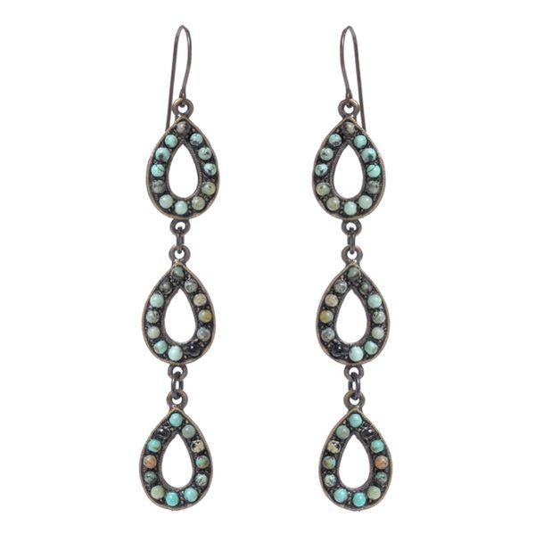 Triple Tear Drop Earrings - dolly mama boutique