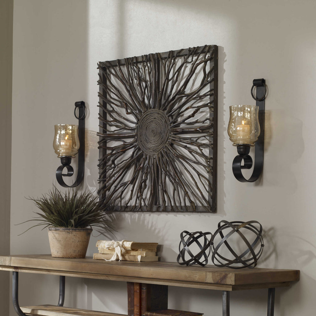 JOSELYN CANDLE SCONCES, S/2 - dolly mama boutique
