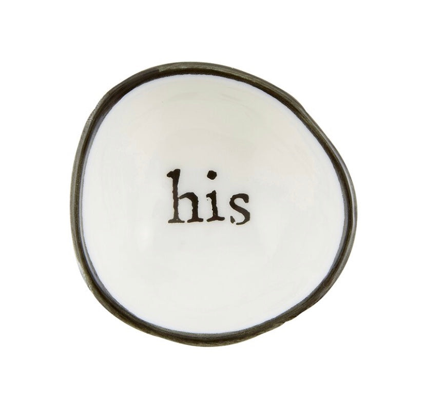 Ring Dish - His - dolly mama boutique