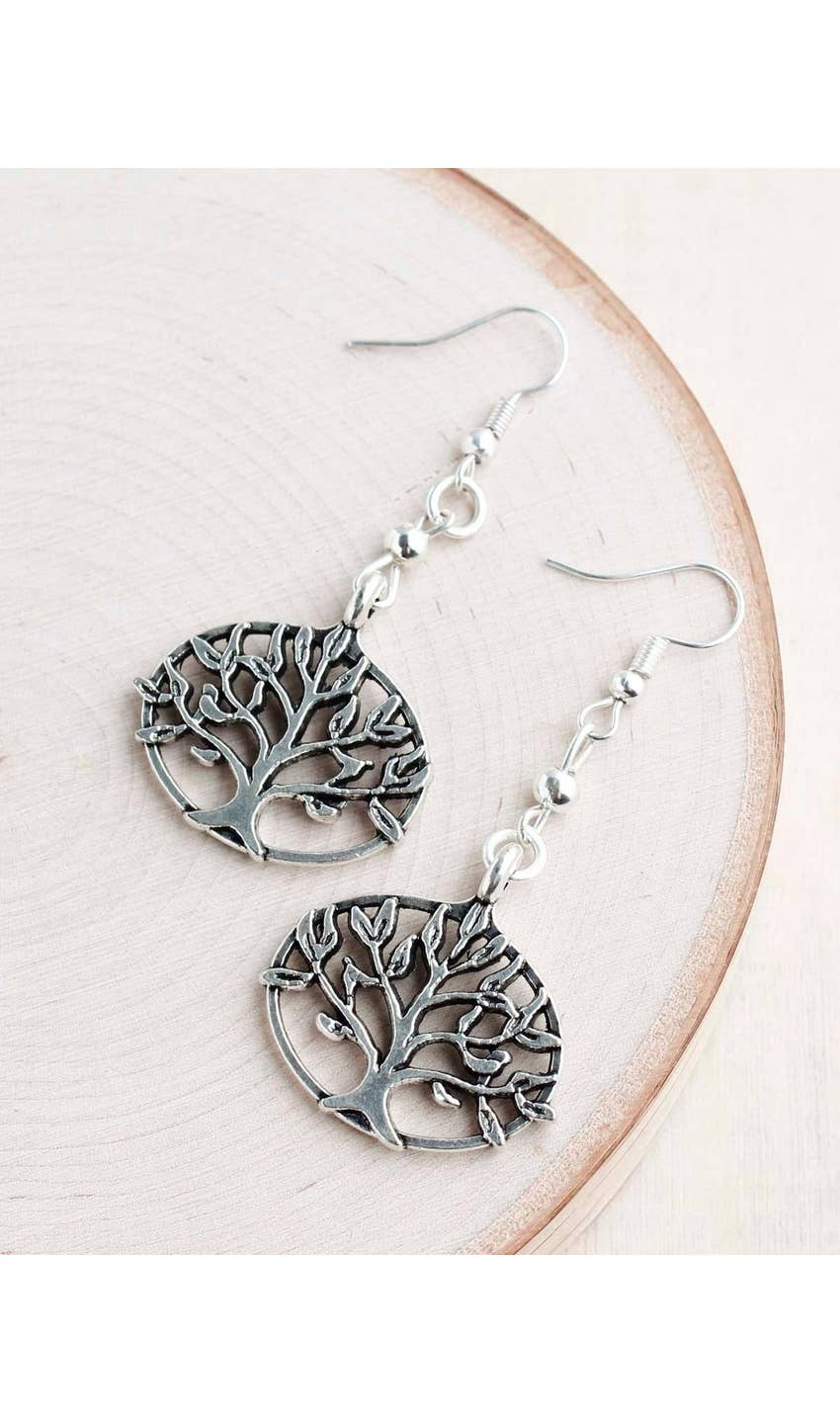 Tree of Life Earrings - dolly mama boutique