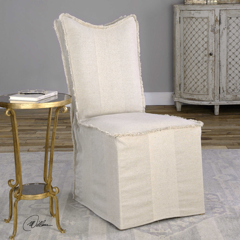 Delroy Armless Chair - dolly mama boutique