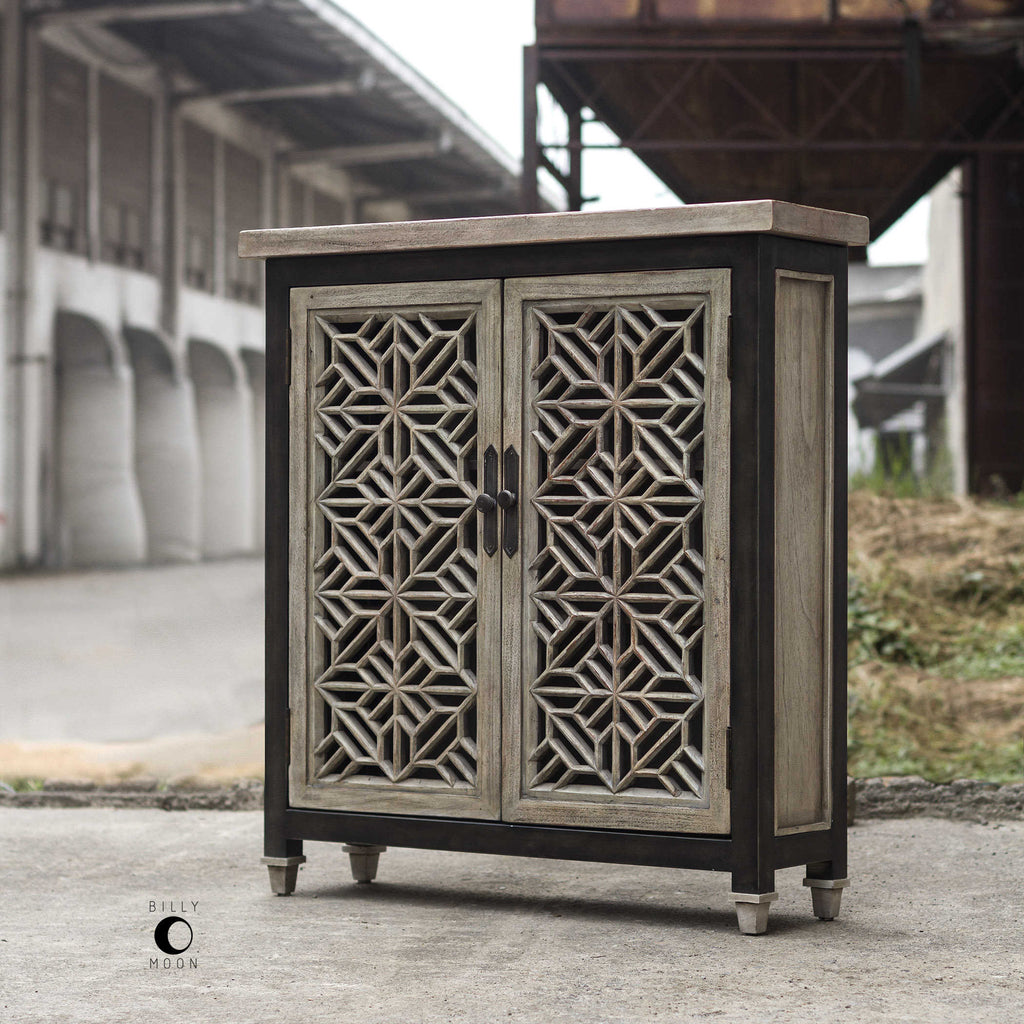 BRANWEN 2 DOOR CABINET - dolly mama boutique