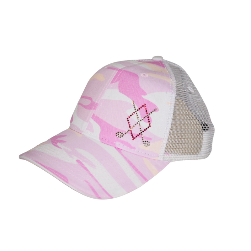 Carina Trucker Hat - Argyle Clubs - dolly mama boutique