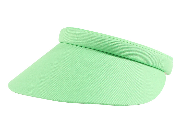 Kaitlin Clip-On Visor, Plain - dolly mama boutique