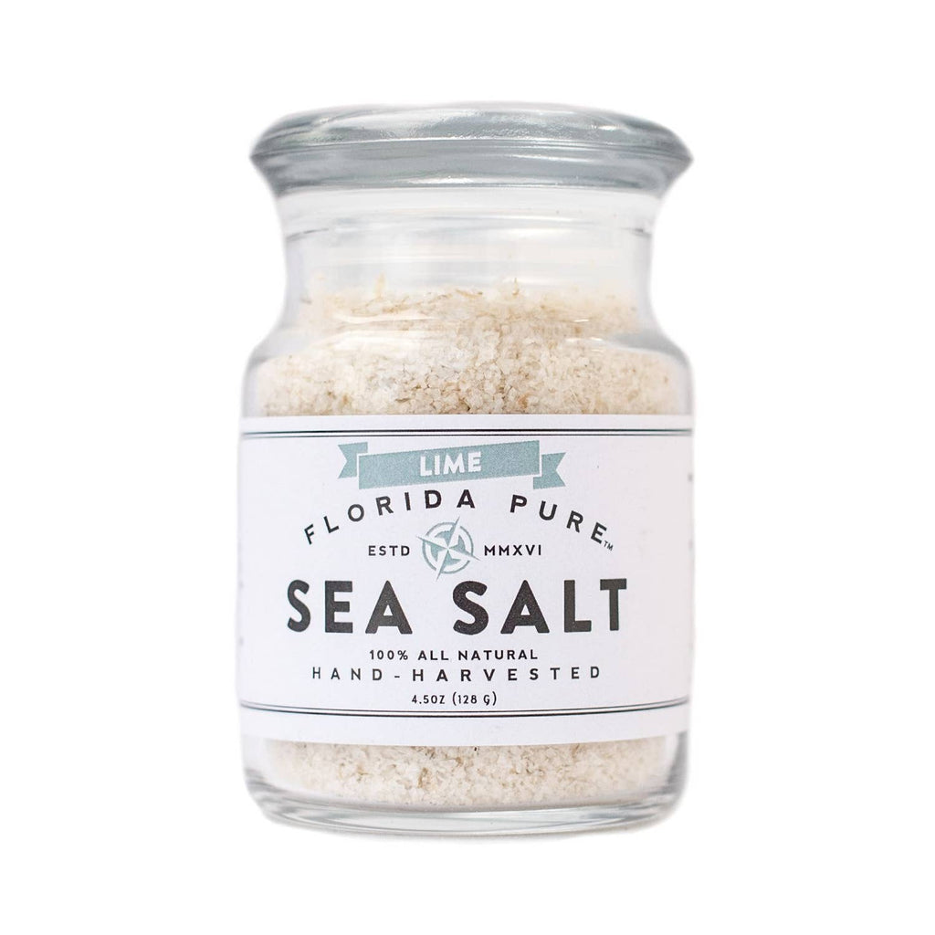 Lime Infused Sea Salt