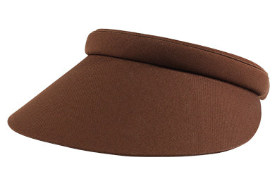 Kaitlin Clip-On Visor, Plain