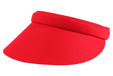 Maddie Small Clip-On Visor, Plain - dolly mama boutique