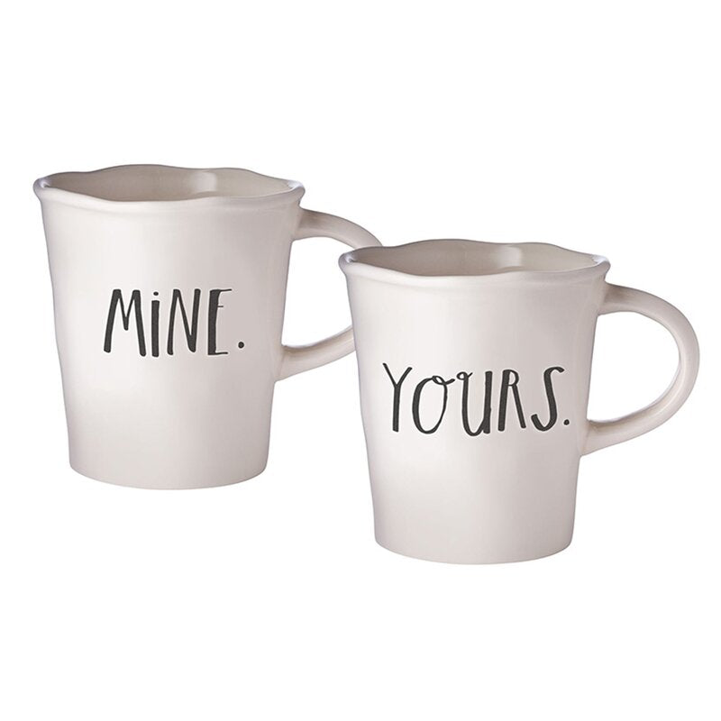 Rea Dunn Yours. Mug - dolly mama boutique