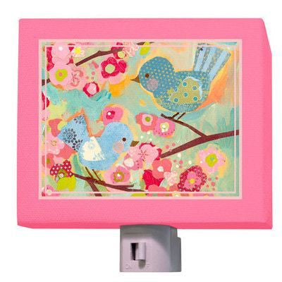 Cherry Blossom Birdies Nightlight - dolly mama boutique