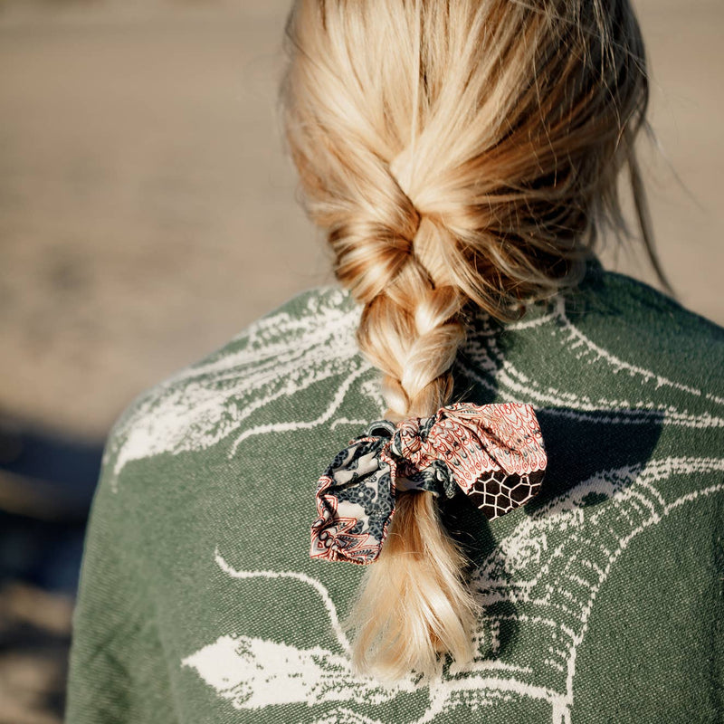 Scrunchies with Bow - dolly mama boutique