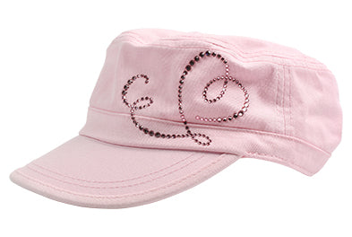 Cameron Military Cap, Dolly Mama Heart