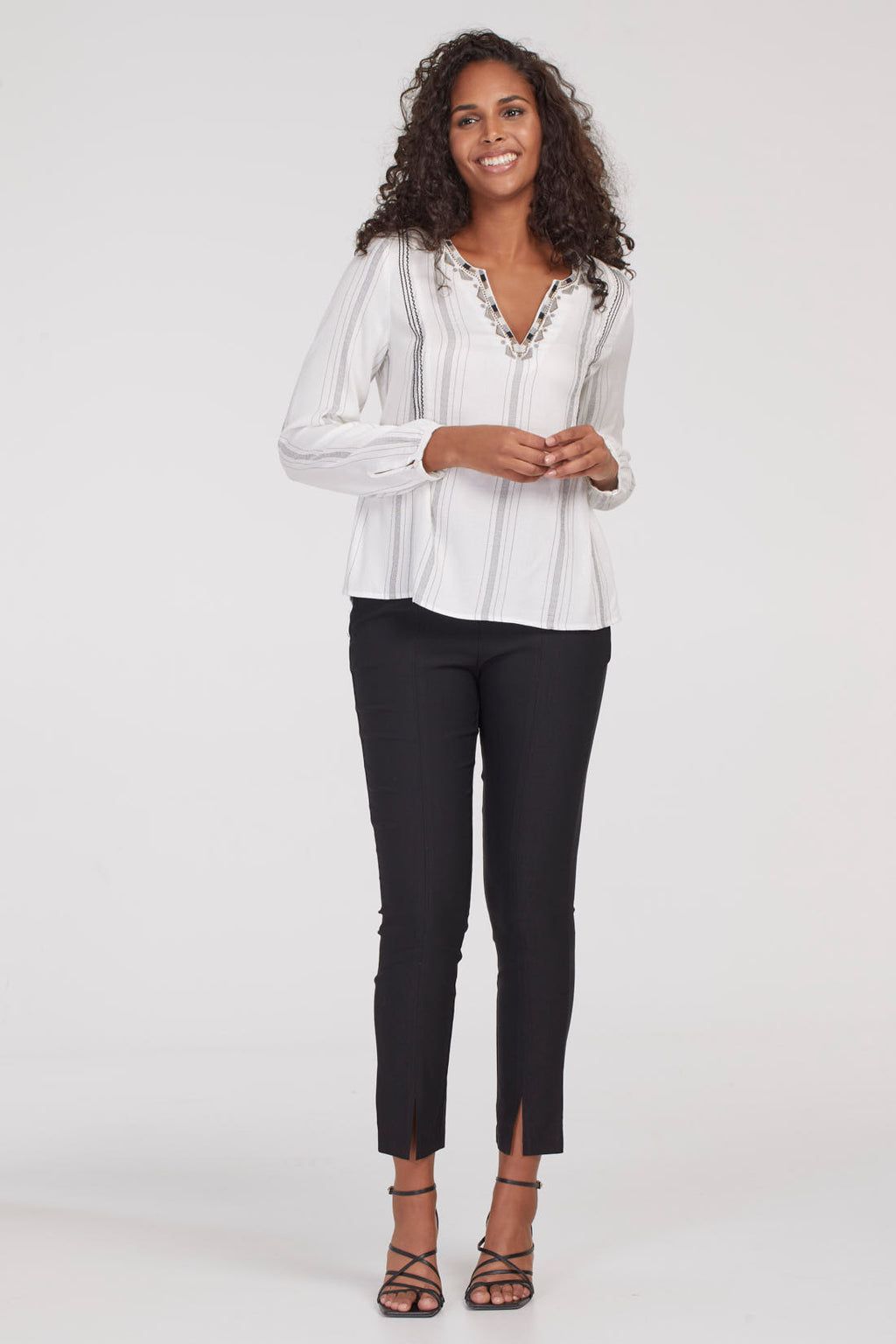 Flatten It Pull On Ankle Pant - dolly mama boutique
