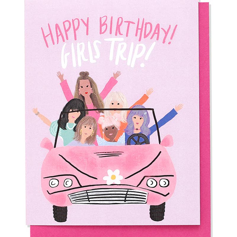 Girls Trip Birthday Card - dolly mama boutique