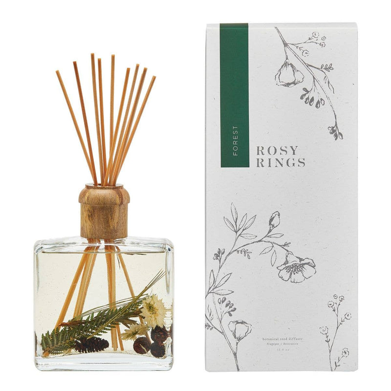 Rosy Rings Forest Botanical Reed Diffuser - dolly mama boutique