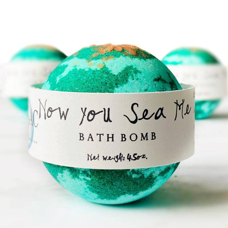Now You Sea Me Bath Bomb - dolly mama boutique