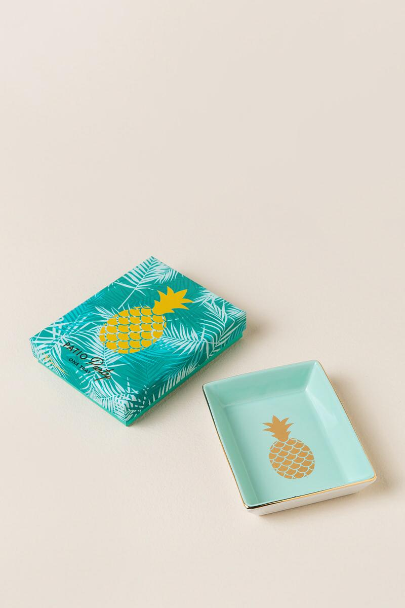 Pineapple Trinket Tray - dolly mama boutique