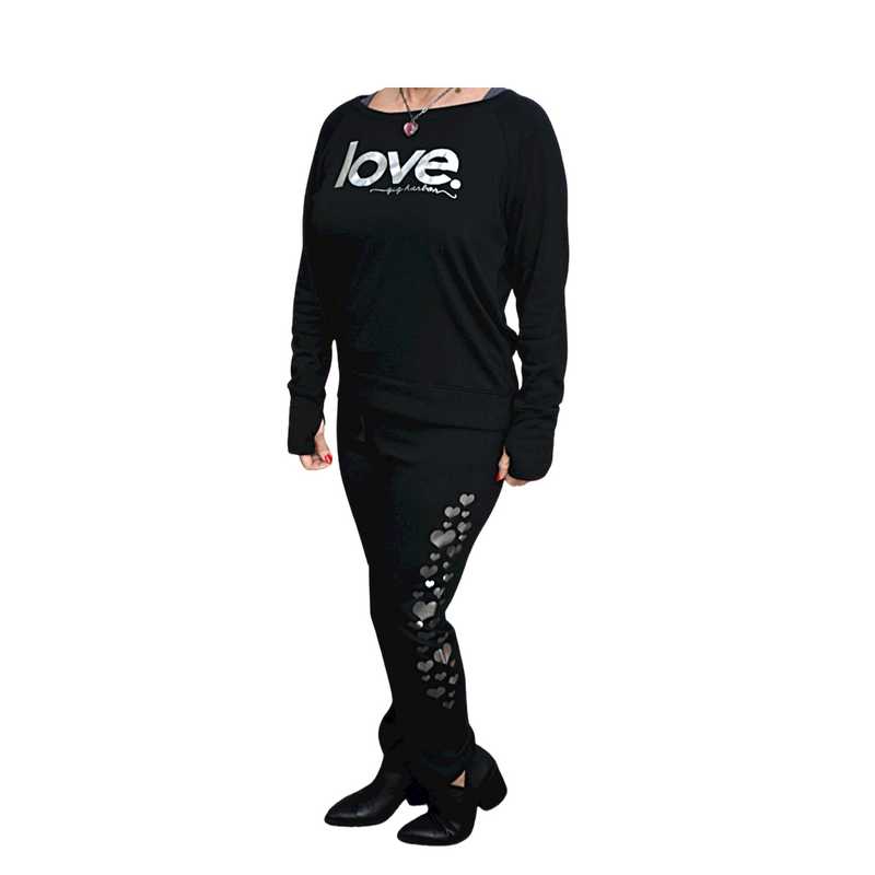 LOVE. Gig Harbor Sweatshirt - New - dolly mama boutique