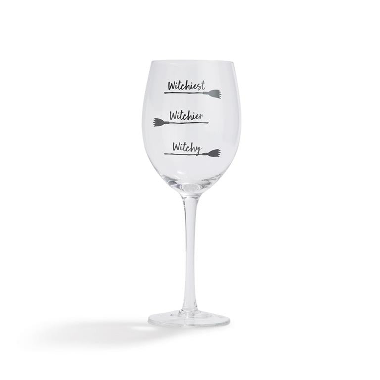 How Witchy Are You? Wine Glass - dolly mama boutique