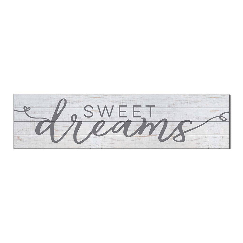 40 x 10 Sweet Dreams Slatted Sign - dolly mama boutique