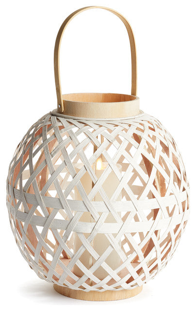 River Bamboo Round Lantern - dolly mama boutique