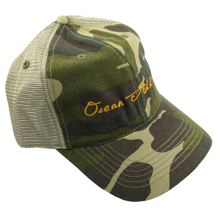 Ocean Addict Trucker Hat - dolly mama boutique