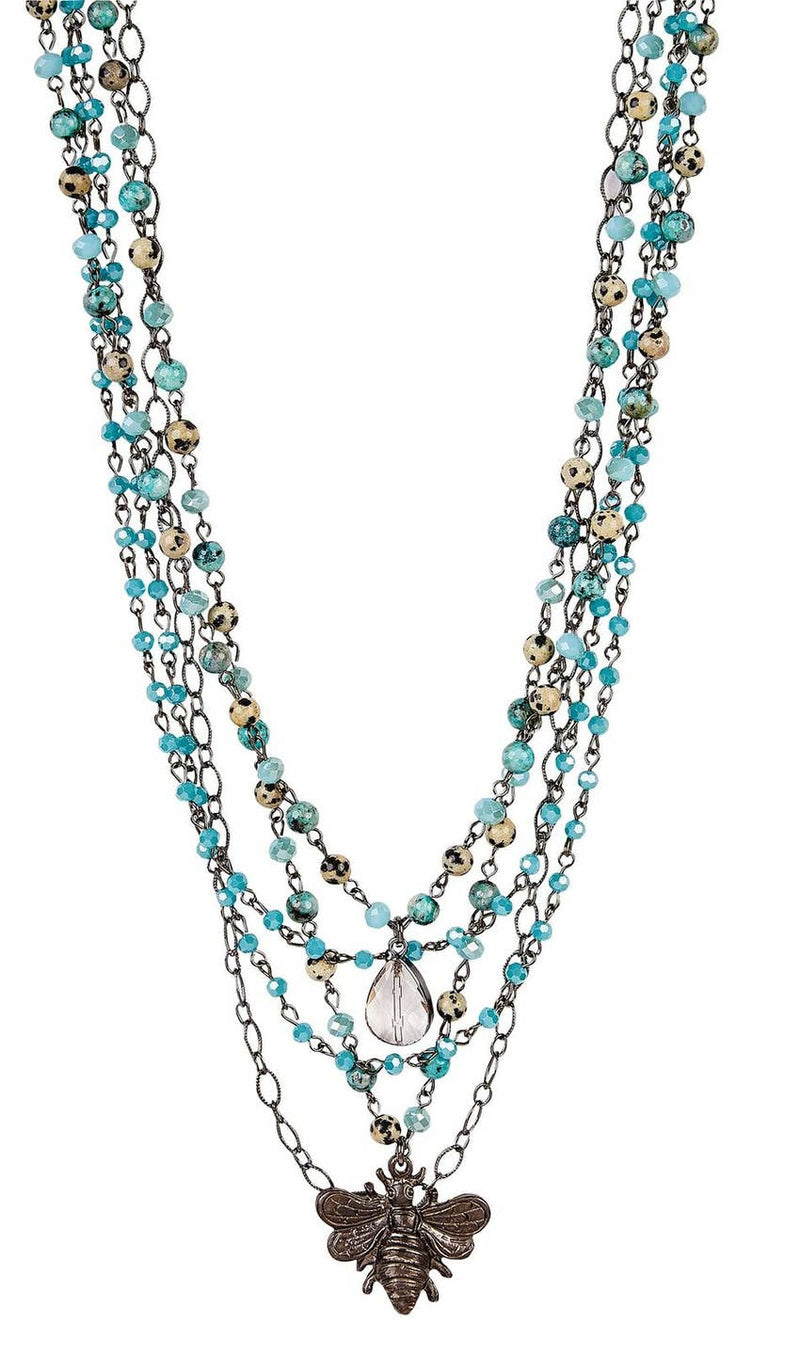 Kate Bee Necklace - dolly mama boutique