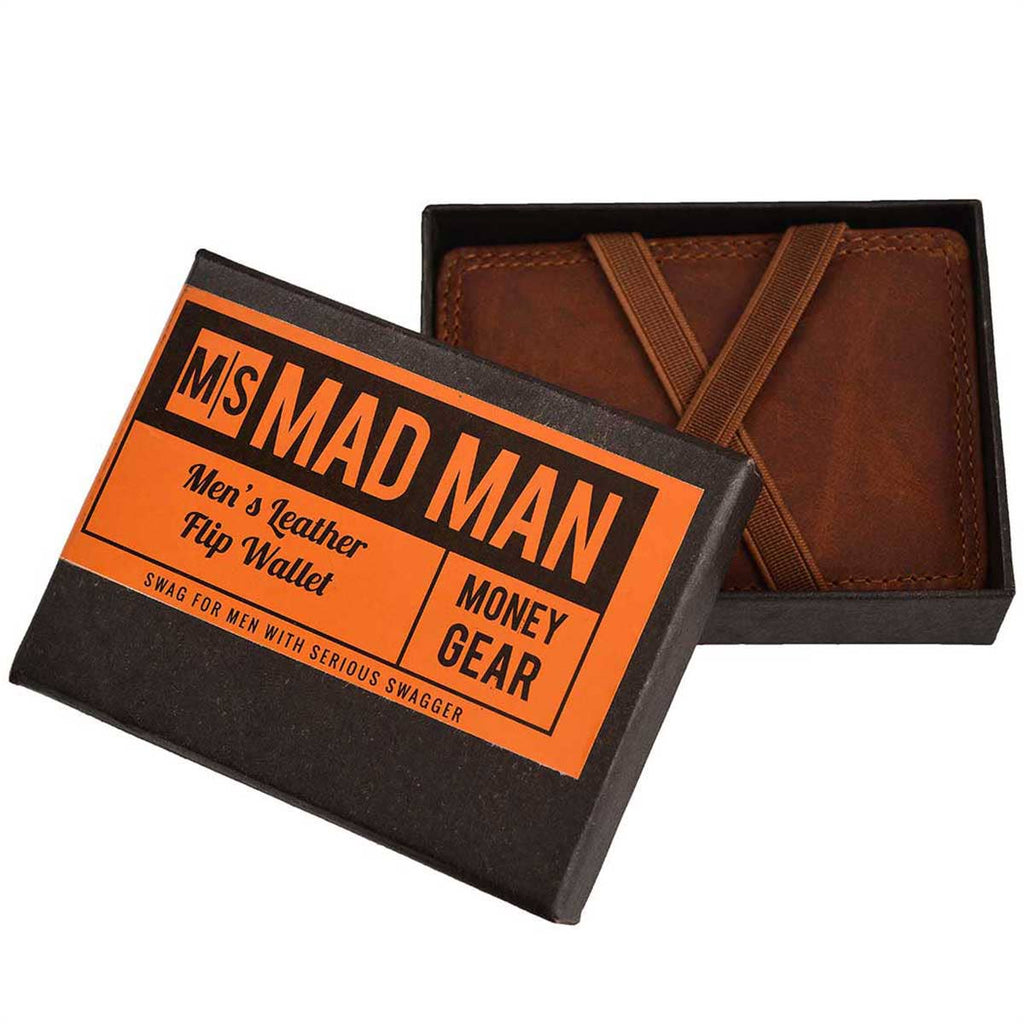 Minimalistic Genuine Leather Magic Wallet