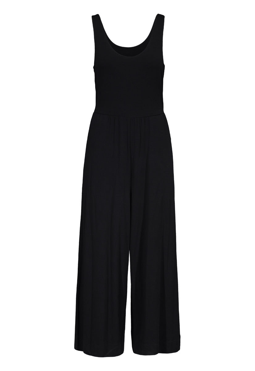 French Terry Jumpsuit - dolly mama boutique