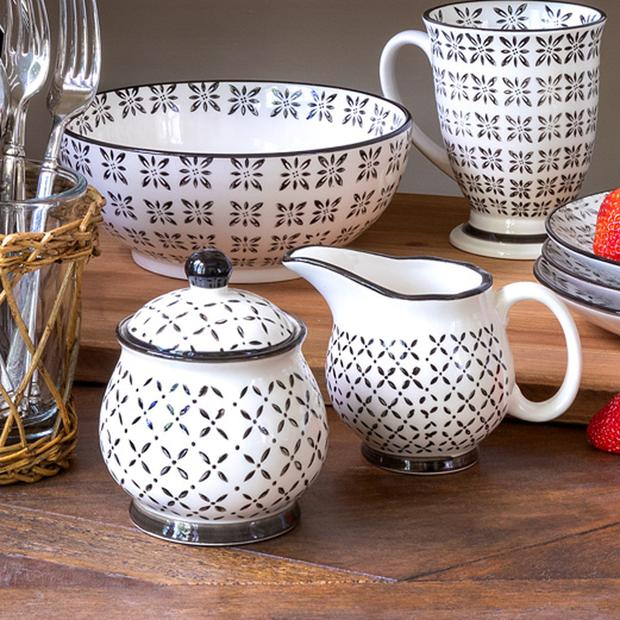 Norden Pattern Creamer - dolly mama boutique