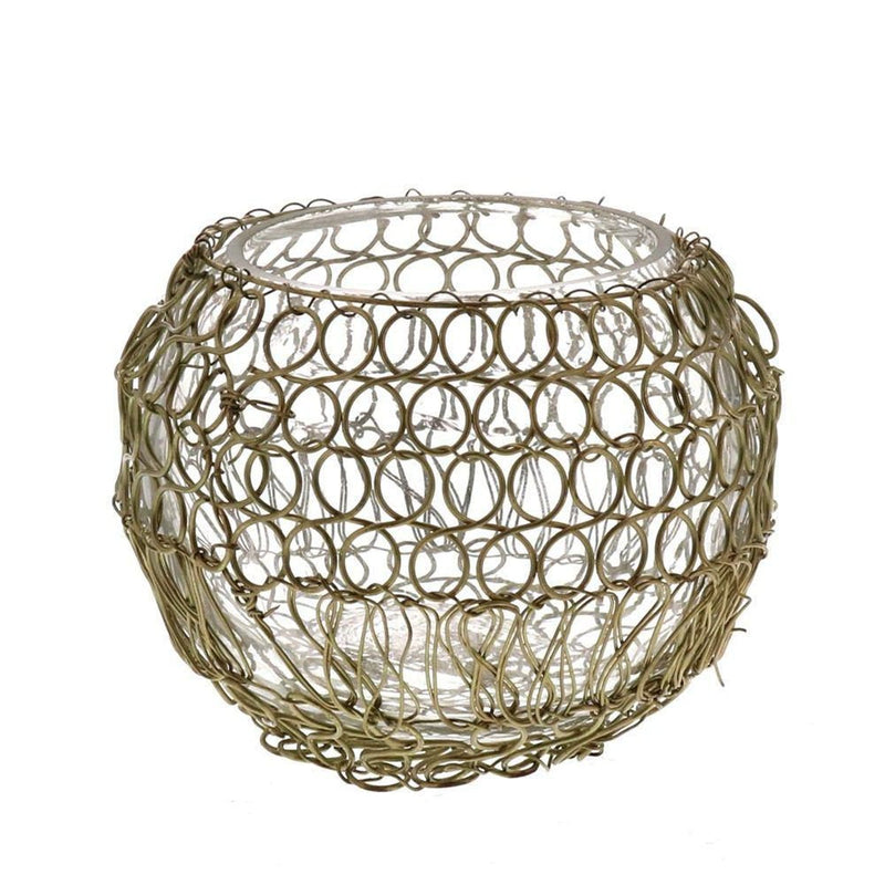 Twisted Wire Votive - dolly mama boutique