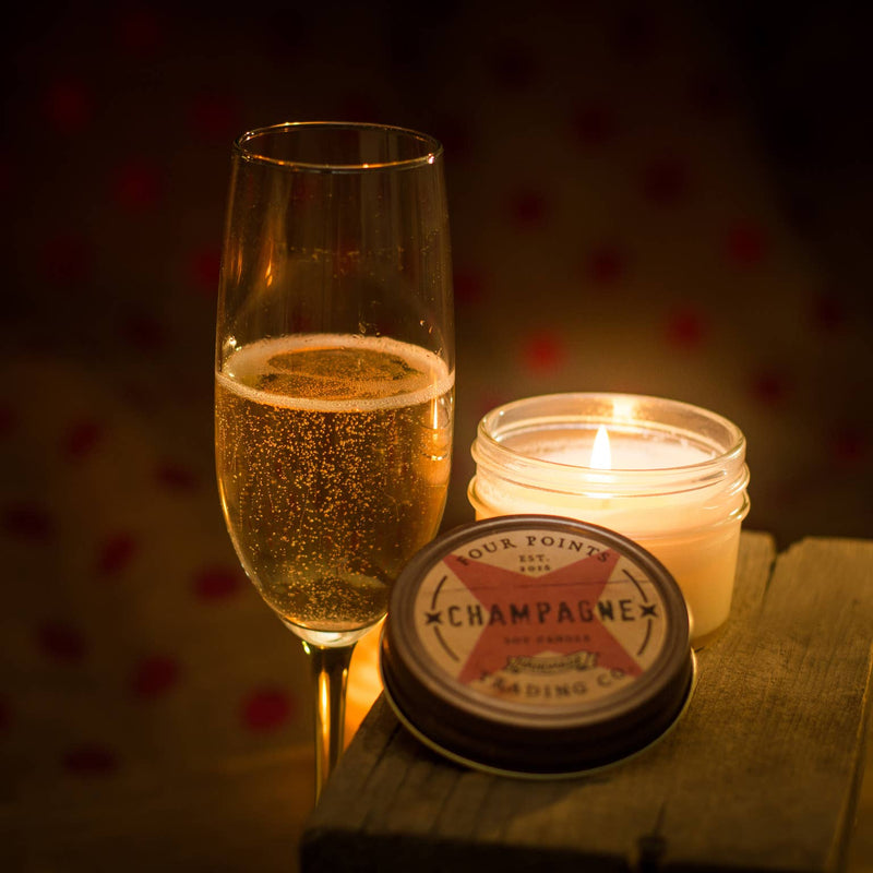 Champagne 4 oz. Soy Candle - dolly mama boutique