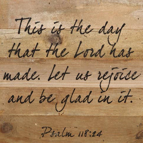 Psalm 118:24 - dolly mama boutique