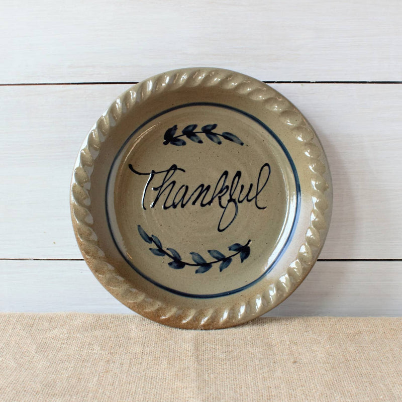 Thankful Pie Platter - dolly mama boutique