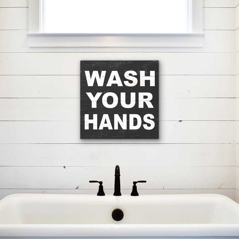 Wash Your Hands Sign - dolly mama boutique