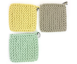 Crochet Pot Holders - dolly mama boutique