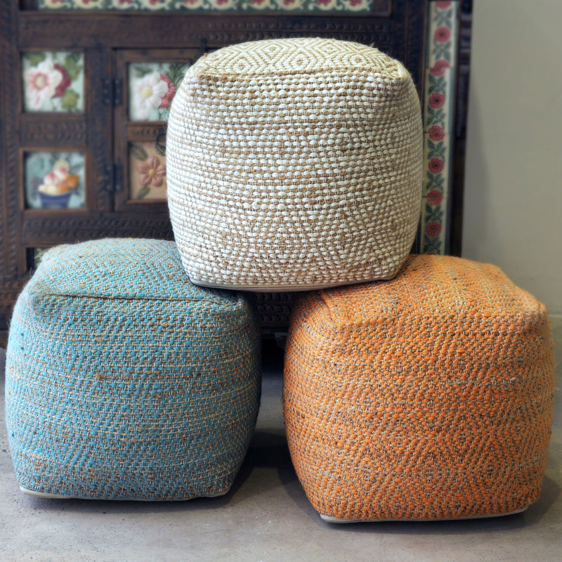 Valda Pouf Seat - dolly mama boutique