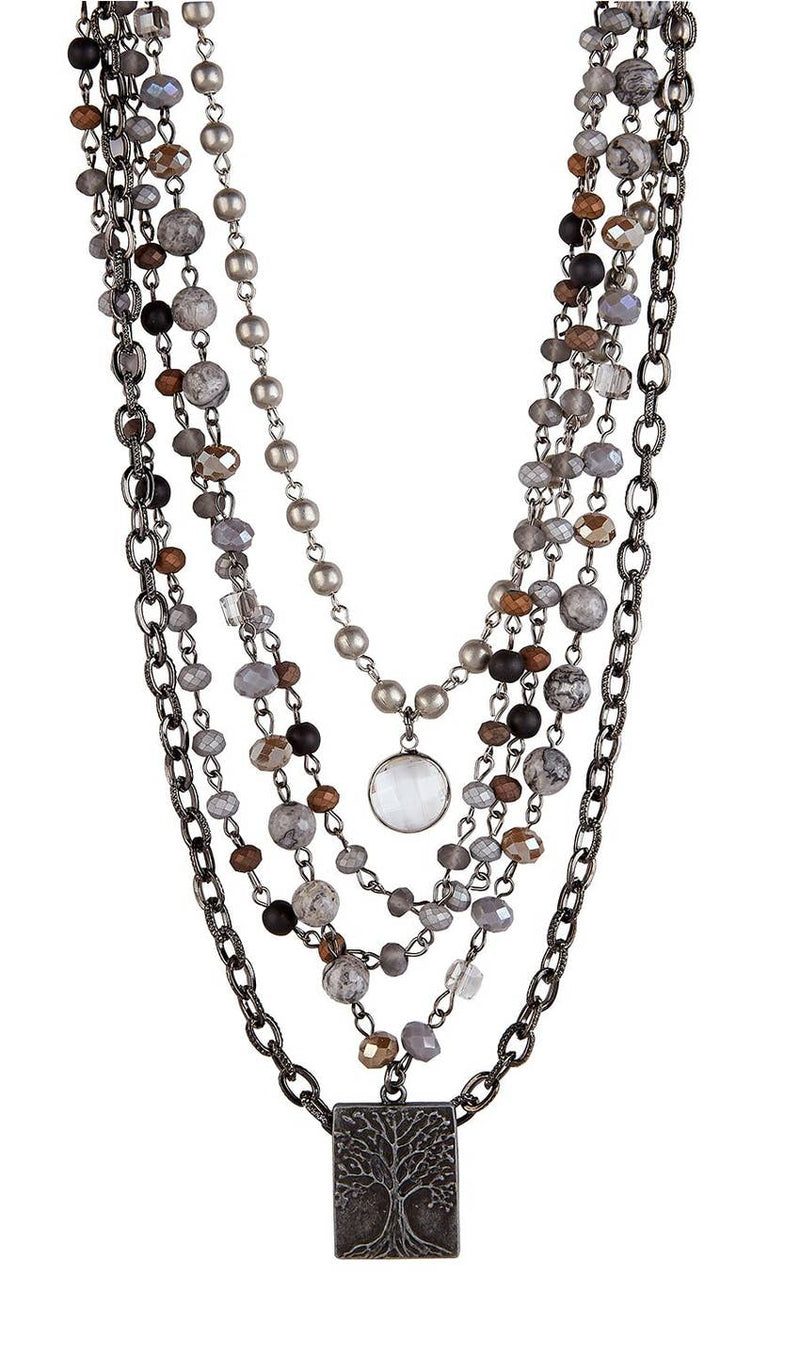 Sarina Necklace - dolly mama boutique