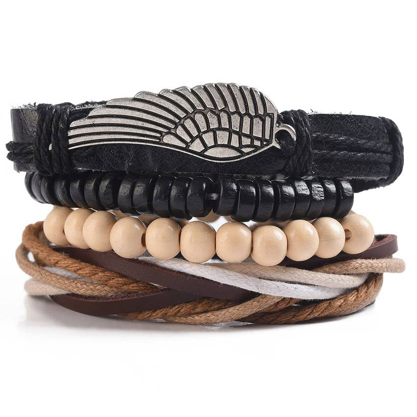Men's Multi-strand Bracelet - dolly mama boutique
