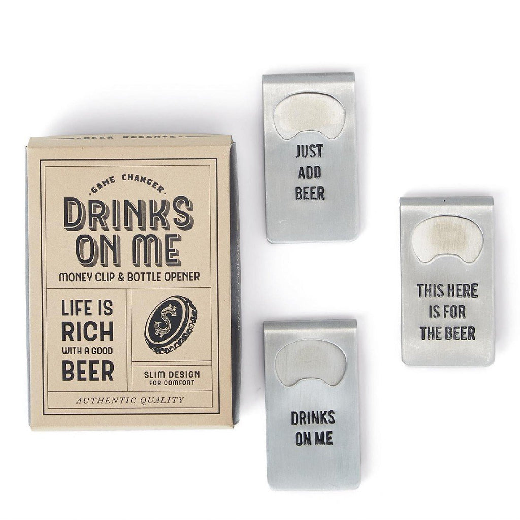 Money Clip Bottle Opener - dolly mama boutique
