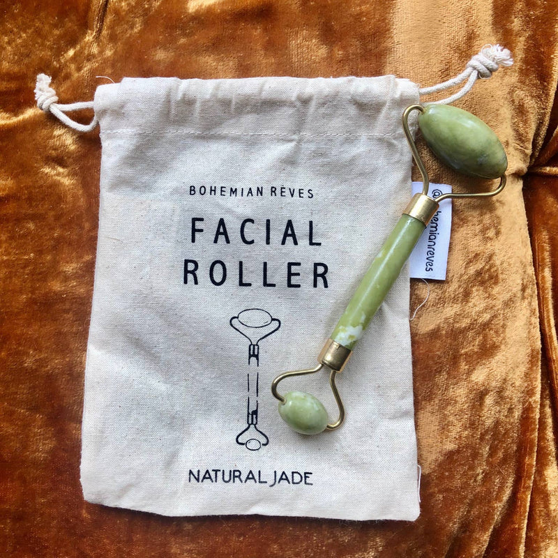 Jade Facial Roller - dolly mama boutique