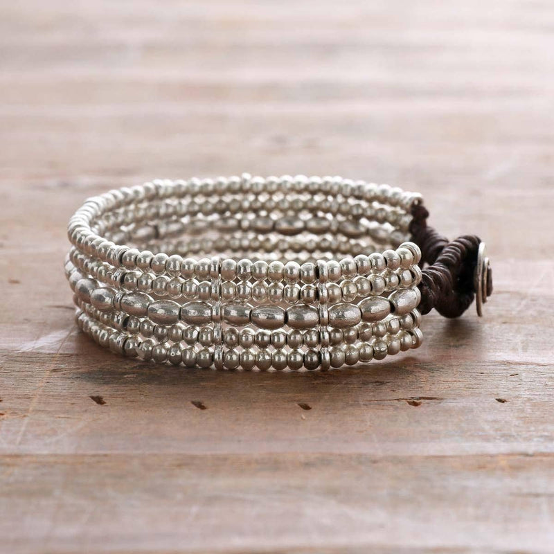 Tight Weave Barrel Bracelet - dolly mama boutique