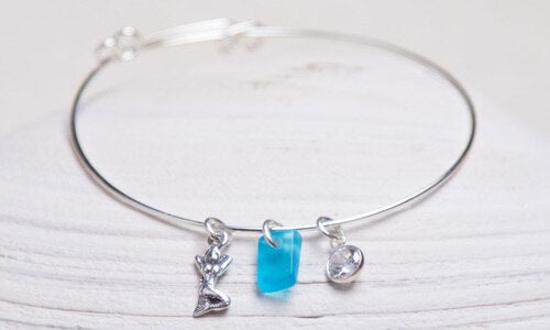 Sea glass Pixie Bracelet - dolly mama boutique