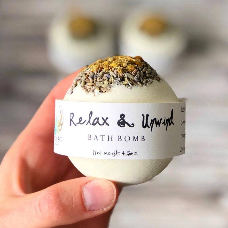 Relax and Unwind Bath Bomb - dolly mama boutique