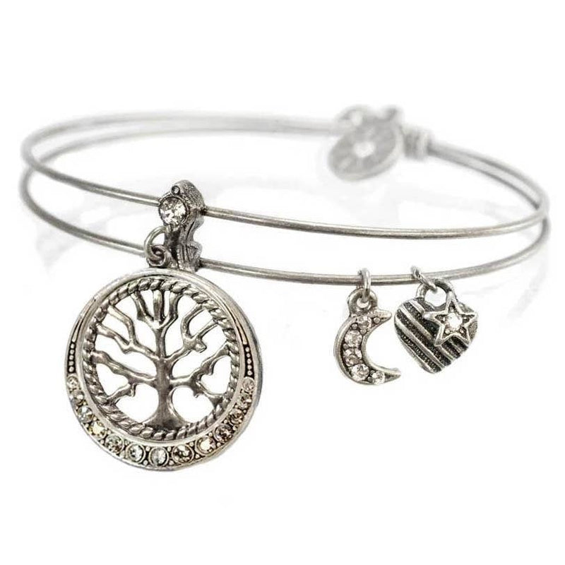 Wisdom (Tree of Life) Bangle - dolly mama boutique