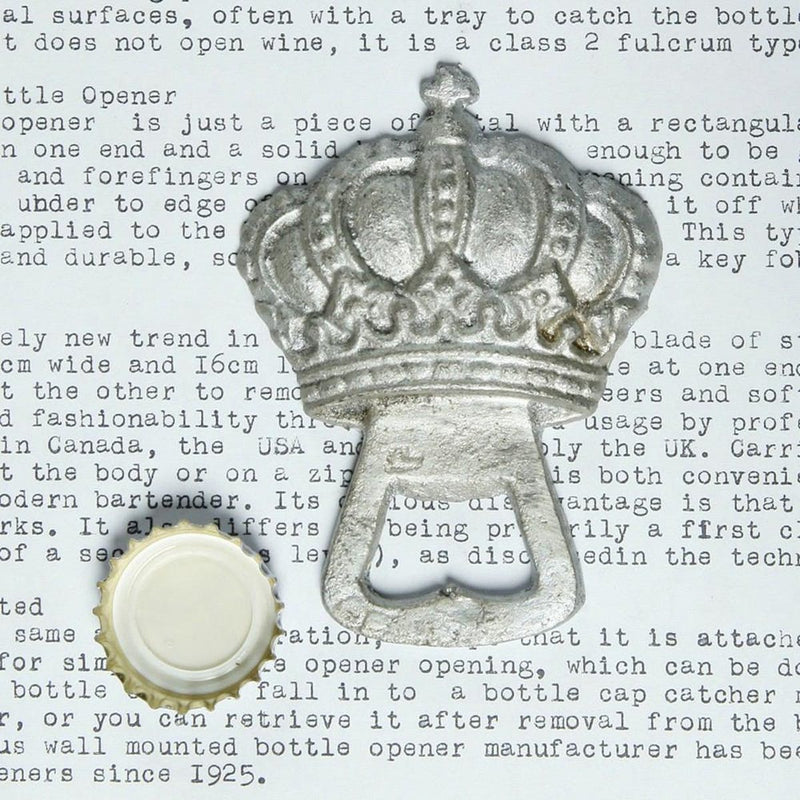 Crown Bottle Opener - dolly mama boutique