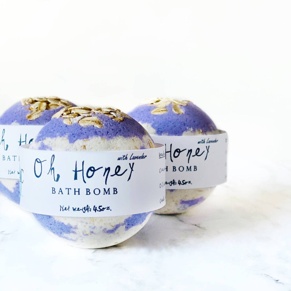 Oh, Honey Bath Bomb - dolly mama boutique